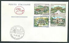 1985 ITALIA FDC CAVALLINO VILLE NO TIMBRO ARRIVO - CV1985-4