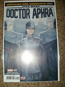 STAR WARS DOCTOR APHRA 35 - 1ST IMPERIAL DISGUISE MANDOLARIAN - NEAR MINT