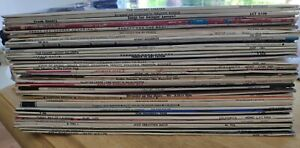 Job Lot Of 39 Jazz And Swing Lps - Sinatra, Dizzy Gillespie, Charlie Parker Etc