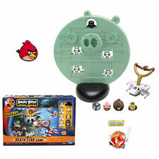 Angry Birds Star Wars Death Star Jenga Game Christmas Gift Kids Destroy pigs