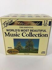 Classic Gold The Essential World's Most Beautiful Music Collection 12 CDs Set