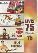 ELVIS PRESLEY 4 DVD SET ELVIS 75th. BIRTHDAY COLLECTION - REGION 1 - SEALED!