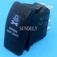 Engine Bay Light Rocker Switch Blue ARB Carling Style Type Landcruiser Patrol