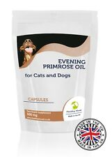 Evening Primrose Oil 500mg for Cats and Dogs Pets x 30 Capsules