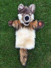 "The Puppet Company Wolf Soft Plush 17"" Hand Glove Puppet"