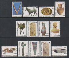 Cyprus - 1983, Overprints on 1980 Treasures set - M/M - SG 607/18