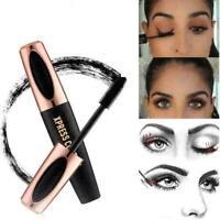 4D Silk Fiber Eyelash Mascara Eyelashserum Wimpernserum Wimpernverlängerung A9Q5