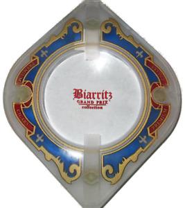 cigar ashtray biarritz grand prix collection crystal feet sr 150 tobacco dish