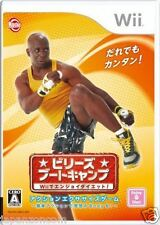 Used Wii Billy's Boot Camp  JAPAN JP JAPANESE JAPONAIS IMPORT