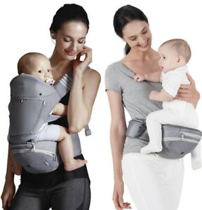 Bebamour Baby Hip Seat Carrier,Foldable Baby Waist Seat with Pocket, 3 Piece
