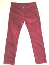 Baldessarini Jeans Men's Jack Stretch Corduroy Jeans Trousers Size W34 L34 Mint