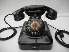 ALTES BAKELIT TELEFON + 1951 + W 48 +  SIEMENS & HALSKE + wie neu + volle Funkt.