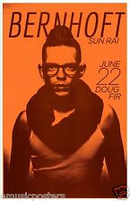 BERNHOFT / SUN RAI 2013 PORTLAND CONCERT TOUR POSTER - Soul,Jazz,Blues,Pop Music