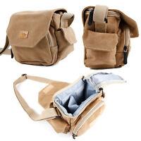 Medium Sized Canvas Carry Bag For the Panasonic Lumix DMC-TZ70EB-K