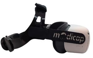 modicap Black Edition Q2 für die Quest 2 ohne Sound Headstrap Umbausatz