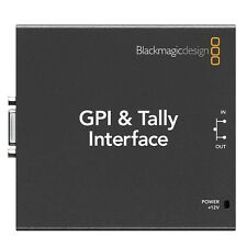 Blackmagic Design GPI & Tally Interface for ATEM & Videohub (SWTALGPI8) NEW!