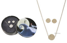 NEW 20TH ANN. NIGHTMARE BEFORE CHRISTMAS JACK NECKLACE & EARRINGS GIFT SET TIN