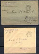 AUSTRIA /POLAND 1916 MILITARY BASE POST COVER FROM DABR