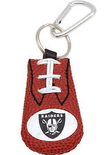 NFL Oakland Raiders Leather Classic Key Ring - Keychain
