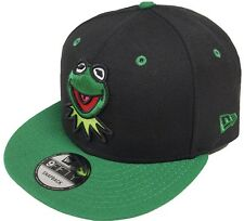 New Era Kermit Black Green Snapback Cap 9fifty Limited Edition 950 Muppets Mens