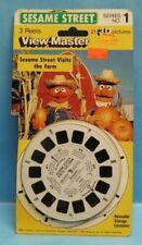 1982 Vintage View Master Sesame Street Series #1 3D Pack Reels