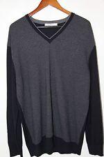 #47 Ermenegildo Zegna V Neck Wool and Cashmere Sweater Size 48 XXL