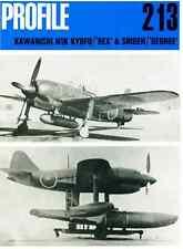 AERONAUTICA AIRCRAFT Publications Profile 213 Kawanishi N1K Kyofu Rex Shiden DVD