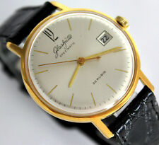 Legendary GERMAN GUB GLASHUTTE Spezimatic Cal. 75 WRIST WATCH ca.1969 26 Rubis