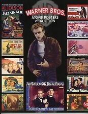 """""""WARNER BROS. MOVIE POSTERS AT AUCTION"""" BOOK – 1920-2004 CLASSIC MOVIES – NEW"""