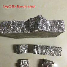 1kg/2.2lb Bismuth Metal Ingot  99.99% Pure Crystals Geodes For Bismuth Crystals