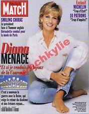 Paris Match n°2453 du 30/05/1996 Diana Mylène Farmer Johnny Hallyday Michelin