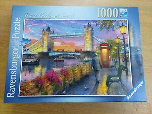 Ravensburger Tower Bridge at Sunset 1000pc Jigsaw Puzzle