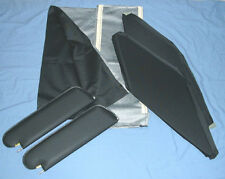 66-67 skylark GS  new  sun visors & headliner  black tier