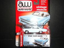 Auto World Mercury Comet Caliente 1966 Blue 1/64 Detail Car