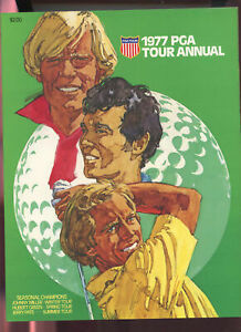 1977 PGA Tour Annual Yearbook Golf Program