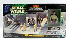 Star Wars Power of The Force Jabba The Hutt's Palace With Han Solo In Carbonite