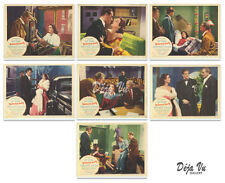 The Dishonored Lady Lobby Card Set of  7 1947  - Fine