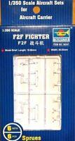 Trumpeter 1:350 F2F Fighter U.S. Navy Aircraft Set Model Kit