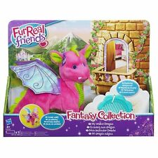 Furreal Friends Soft Toy - Electronic Plush Walking Dragon - Fantasy Collection