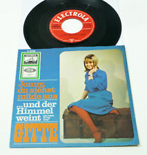 "GITTE ""Jonny du siehst müde aus"" german 1965 Electrola 7"" PS 45 Schlager 60er"