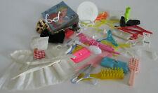 Vintage Barbie Midge & Friends Large Lot Accessories Most Black Label Japan