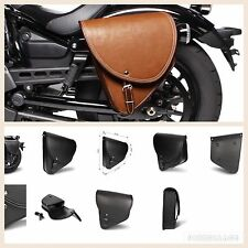 BORSA LATERALE HARLEY DAVIDSON SPORTSTER SINISTRA MARRONE FORTY EIGHT 48 1200X