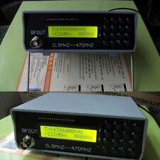 0.5Mhz-470Mhz RF Signal Generator Meter Tester For-FM-Radio-walkie-talkie-debug