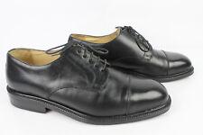 Zapatos oxford JOHN MAC GRAY En Piel vacuno Cosido Negro T 41,5 MUY BUEN ESTADO