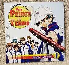THE PRINCE OF TENNIS Anime Episode 1 DVD Shonen Jump Magazine Promo Disc EUC