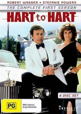 Hart To Hart : Season 1 (DVD, 2016, 6-Disc Set)