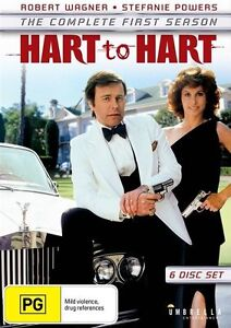 Hart To Hart : Season 1 (DVD, 2016, 6-Disc Set) New Sealed Region 4