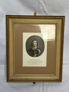 1815 Print Major General John Lambert Old Vintage Frame Pub Library Picture