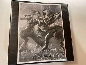 MTG Modern Masters 2015 - 393 Cards - 4x Incomplete - New Binder & Sleeves