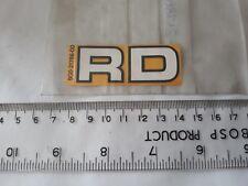 1 x Genuine Yamaha RD Decal Emblem 6 Sticker 5G0-21786-00 RD80 12G 82 RD50MX